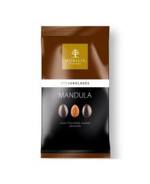 Конфеты-драже Nobilis миндаль в черном шоколаде, 100 г, 5997690716951
