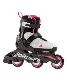 Ролики детские Rollerblade Microblade Free 3WD G White 2021 (Белый, 28-32)