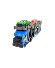 DICKIE TOYS Автотранспортер с 3 машинками, 28 см, 2 вида.