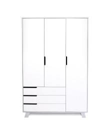 Шкаф Верес Manhattan 1200 с ящиками Бело-серый