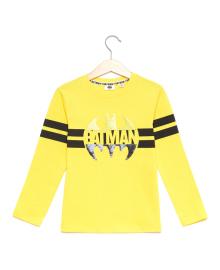 Джемпер BluKids Batman yellow 5568881, 8051016820535