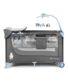 Кроватка-манеж Кinderkraft Joy Blue с аксессуарами Kinderkraft KKLJOYBLU000AC, 5902533911288