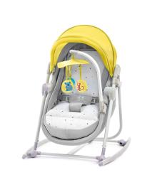 Шезлонг-качалка Kinderkraft Unimo Yellow 5 в 1