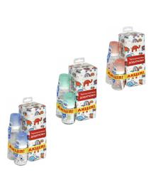 Набор бутылочек Canpol babies Cute animals 120 мл и 250 мл 11/841_ua, 2020080400017