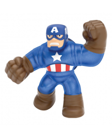 Игрушка-тянучка GooJitZu Капитан Америка 12 см