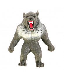 Игрушка-тянучка Monster Flex Оборотень серый 15 см