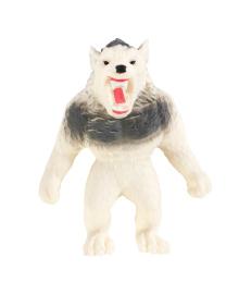 Игрушка-тянучка Monster Flex Оборотень белый 15 см