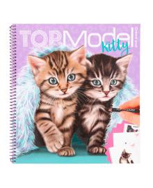 Альбом для раскрашивания TOP Model Котята
