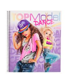 Альбом для раскрашивания TOP Model Танцы