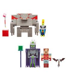 """Набор из 2 фигурок персонажей серии """"Dungeons"""" Minecraft в асс. Mattel GND37"""