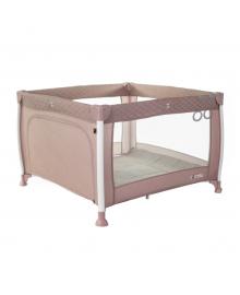 Детский манеж Carrello Cubo (Каррелло Кубо) CRL-11602/1 Flamingo Pink (6900116000090) Цвет Розовый