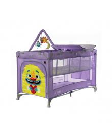 Детский манеж Carrello Molto (Каррелло Молто) CRL-11604 Orchid Purple (6900116000182) Цвет Фиолетовый