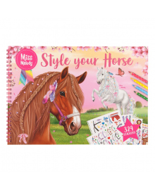 Альбом для раскрашивания Miss Melody Horse
