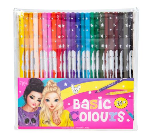 Набор цветных карандашей TOP Model 24 шт