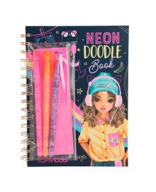 Альбом для раскрашивания TOP Model Neon Doodle Book (в ассорт) 410273, 4010070393885