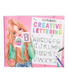 Альбом для раскрашивания TOP Model Creative Lettering