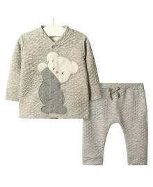 Костюм детский 3 в 1 Тедди, серый Flexi FL217348