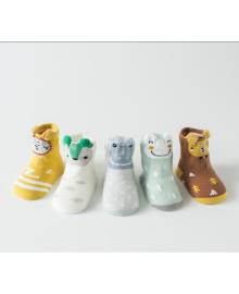 Набор носочков, 5 пар, ND2023 12-14 (1-2 года) Разноцветный Lapchu