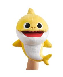 BABY SHARK Интерактивная мягкая игрушка на руку со сменой темпа проигрывания -  МАЛЫШ АКУЛЕНОК