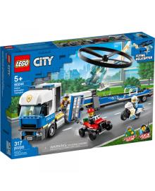 Конструктор Lego City Перевозка Полицейского Вертолета (60244)