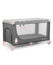 Кроватка-манеж Кinderkraft Joy Pink Kinderkraft KKLJOYPNK00000, 5902533911257