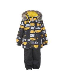Куртка и полукомбинезон LENNE Franky Black/Yellow 20318/1090, 4741578749873