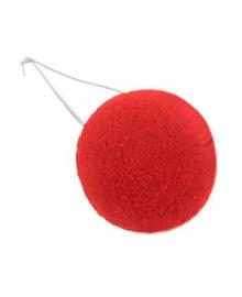 Нос клоунский поролоновый красный 1501-0453