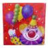 Салфетки праздничные Клоун с шарами 1502-0463