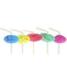 Трубочка зонтик 12 1502-0541