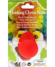 Нос Клоуна огромный (резина) 240216-377