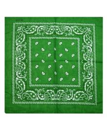 Бандана ковбойская темно-зеленая 020316-197 Tronzo