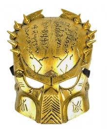 Маска Хищник Bestoyard взрослая (золото) 240216-142