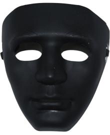 Маска лицо человека (Черная) 240216-113 Bestoyard