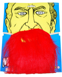 Борода пирата красная 240216-407