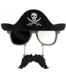 Очки Пират с усами 250216-077