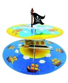 Подставка для кексов Маленький Пират 1502-1367 Amscan