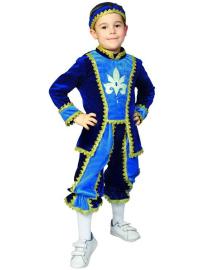 Костюм Принц синий (Витус) 34р 100417-024