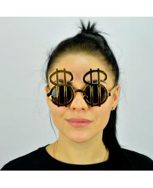 Очки Доллары (Золотые) 281117-031