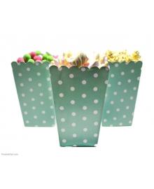 Коробочка для сладостей Горошек (мятный) 290118-003