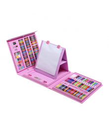 Набор для рисования с мольбертом Shipa Pink 208 эл.