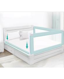 Барьер на кровать 1.5 метра серый Z2135 Стандартный Серый Lapchu