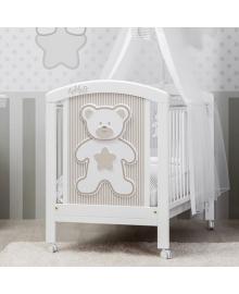 Кроватка Pali Teddy White