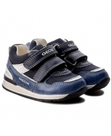 GEOX Туфли для мальчика, синий, размер 19