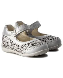 GEOX Туфли для девочки, синий, размер 18