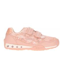 GEOX Кроссовки для девочки, розовый, размер 32