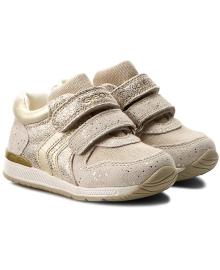 GEOX Туфли для девочки, бежевий, размер 18