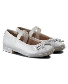 GEOX Туфли для девочки, белый, размер 29