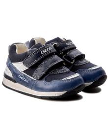 GEOX Туфли для мальчика, синий, размер 18
