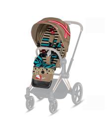 Комплект текстиля для коляски Cybex Priam KK One Love 519003069, 4058511640501