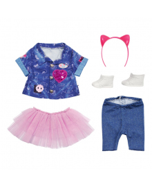 Набор одежды для куклы Baby Born Джинс Делюкс 829110, 4001167829110